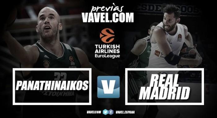 Previa Panathinaikos – Real Madrid: asentarse entre los tres mejores de la Euroliga