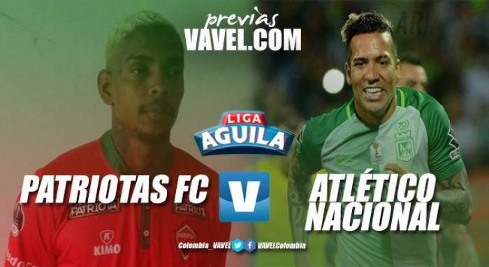 Previa Patriotas F.C vs Atlético Nacional: Los de Almirón a seguir con puntaje perfecto