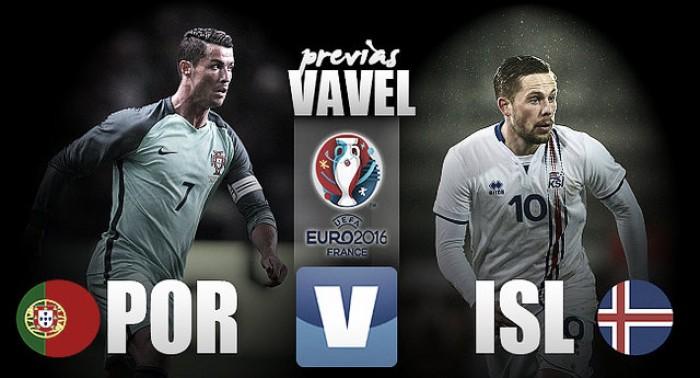 Portugal - Islandia: especulaciones las justas