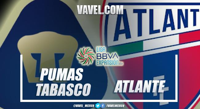 Previa Pumas Tabasco vs Atlante: choque de alto poder
