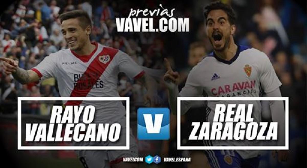 Previa Rayo Vallecano – Real Zaragoza: duelo por estar arriba