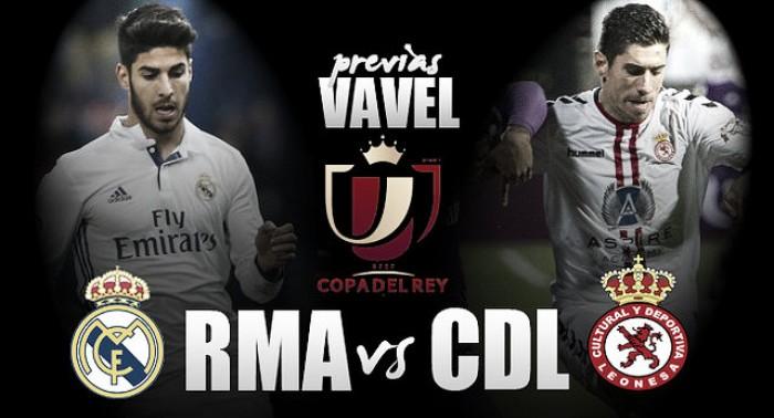 Previa Real Madrid - Cultural Leonesa: una 'Copa' para pensar en el 'Clásico'