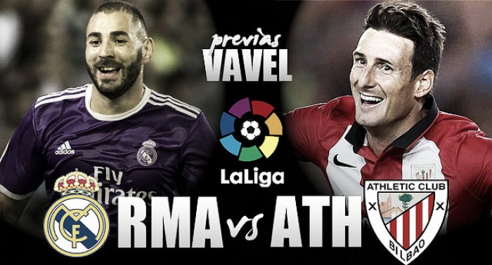 Previa Real Madrid - Athletic Club de Bilbao: 'zarpasso' a La Liga