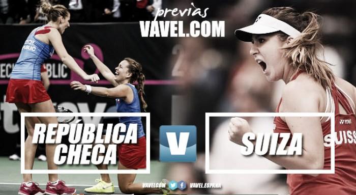 Fed Cup 2018. Previa República Checa - Suiza: duelo estrella de primera ronda