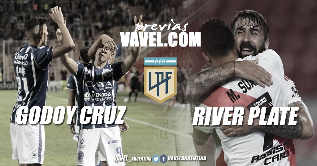 Previa de Godoy Cruz vs. River: a la bodega con muchas ausencias