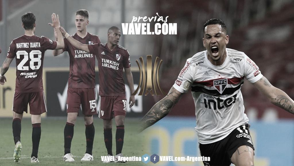 Previa River Plate vs São Paulo: duelo para definir la clasificación a la siguiente fase