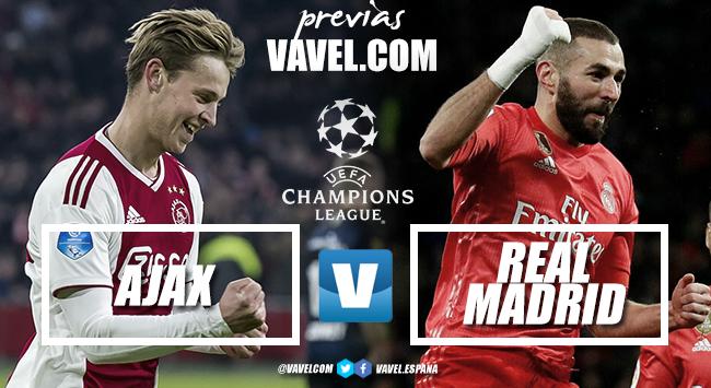 Previa Ajax - Real Madrid: comienza el Tourmalet por la Champions
