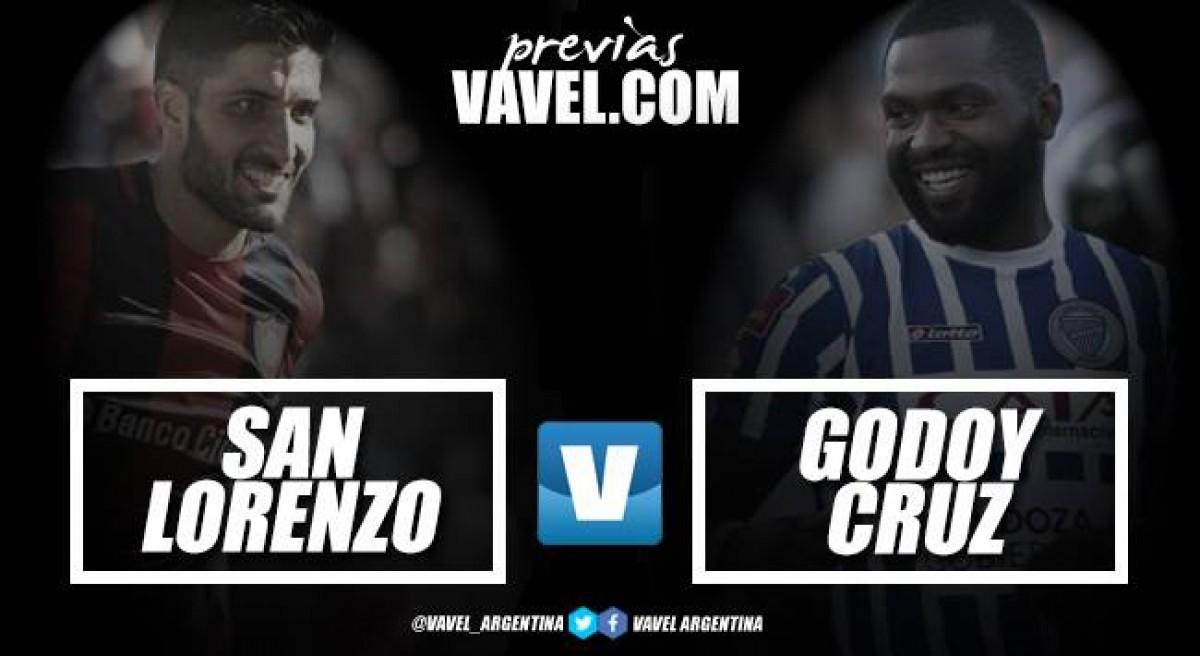 Previa San Lorenzo vs Godoy Cruz: choque emocionante por los primeros lugares