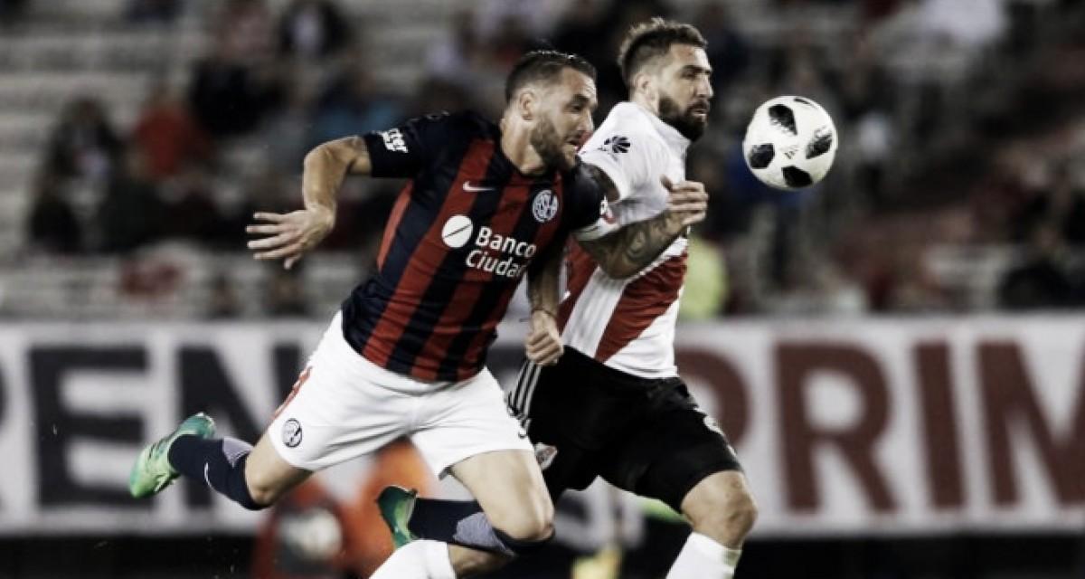 """Previa San Lorenzo - River Plate: el """"Ciclón"""" por su primera victoria en la Superliga"""
