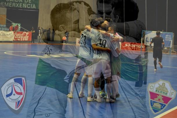 Santiago Futsal - Elche CF V. Alberola: al borde del precipicio