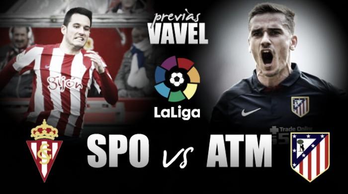 Previa Sporting - Atlético: vencer sin dejar dudas
