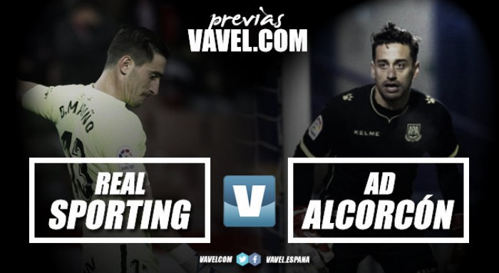 Previa Real Sporting - AD Alcorcón: consagrarse en El Molinón