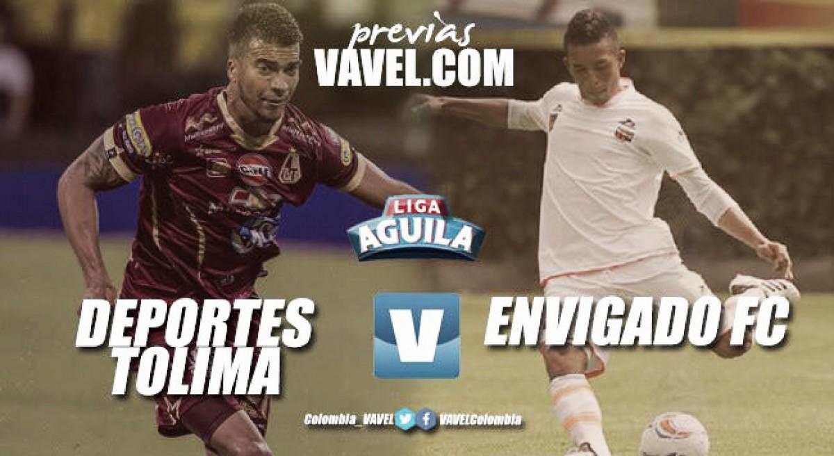 Tolima vs Envigado FC: presentes distintos
