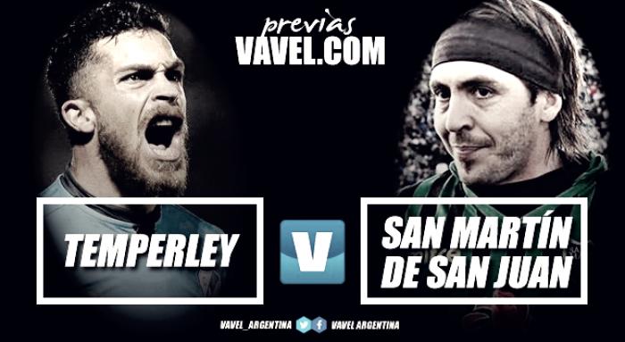"""Previa: Temperley vs San Martín de San Juan, en busca de los primeros tres puntos del """"Gato"""""""