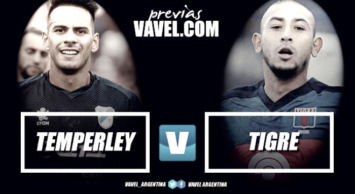 Previa Temperley vs Tigre: no se conforma con el empate