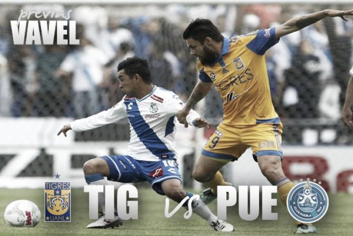 Vence Tigres 2-1 a Puebla y es nuevo líder del torneo