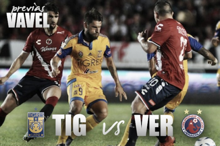 Previa Tigres – Veracruz: A seguir triunfando