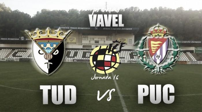 CD Tudelano - Real Valladolid Promesas: intercambio de posiciones