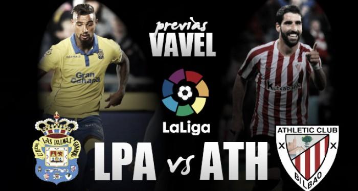 Previa Las Palmas - Athletic: unos buscan la tranquilidad, los otros miran a Europa