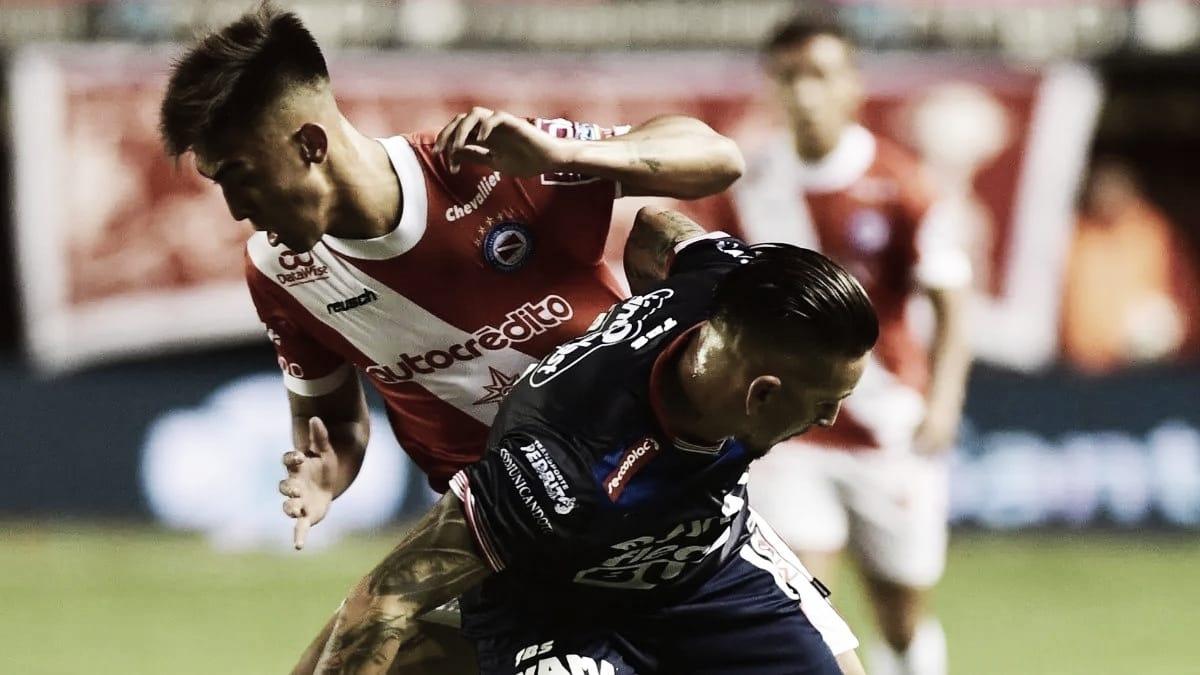 Argentinos Juniors, abajo en el historial