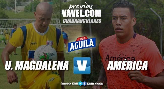 Previa Unión Magdalena vs América: dos equipos que no quieren rendirse