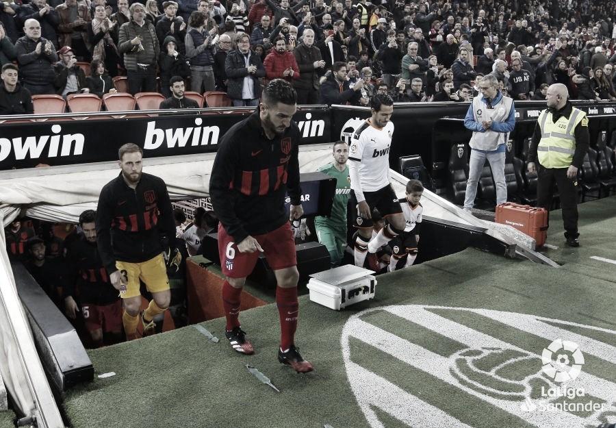 Previa del Valencia vs Atlético de Madrid./ Foto: LaLiga Santander