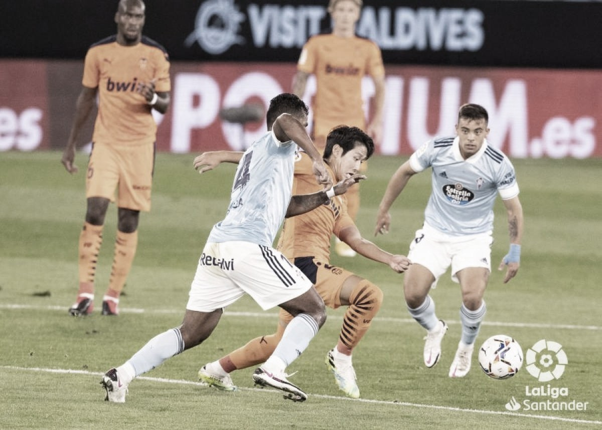 Previa Valencia CF - RC Celta: jornada de reencuentros en Mestalla
