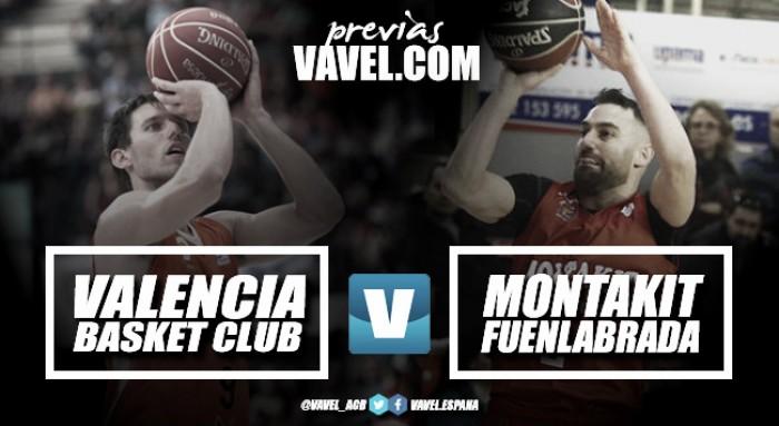 Previa Valencia Basket – Montakit Fuenlabrada: el colofón a una histórica primera vuelta