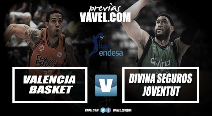 Previa Valencia Basket Club- Divina Seguros Joventut: a terminar el año con buen pie