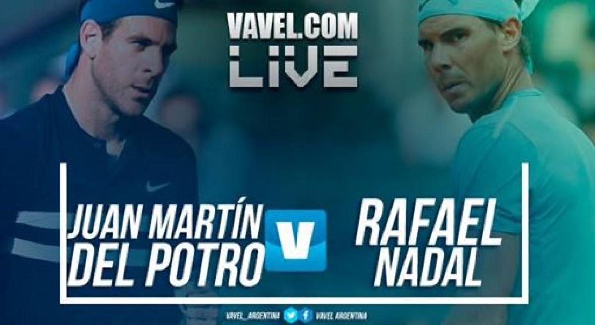 Resumen de Del Potro 0-3 Nadal en semifinal de Roland Garros 2018
