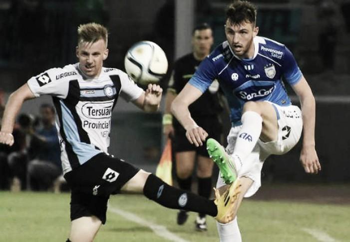 Belgrano hundió un poco más a Atlético de Rafaela