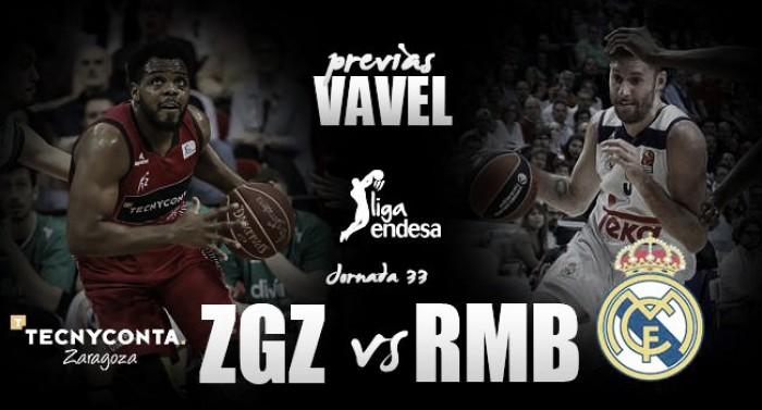 Previa Tecnyconta Zaragoza - Real Madrid: dos ligas muy distintas