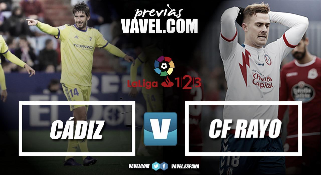 Previa Cádiz CF - Rayo Majadahonda: A una victoria de entrar en playoff