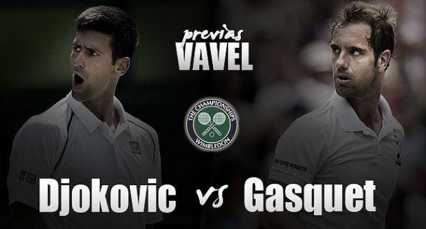 Wimbledon 2015: Gasquet sogna lo sgarbo, Djokovic vede la finale