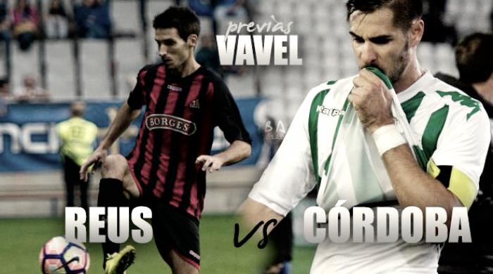 CF Reus - Córdoba CF: los blanquiverdes obligados a ganar