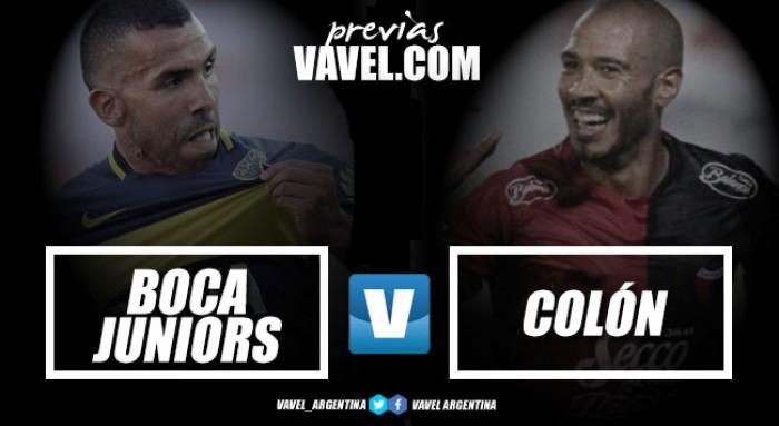 Previa Boca Juniors - Colón: Por la primera victoria del año