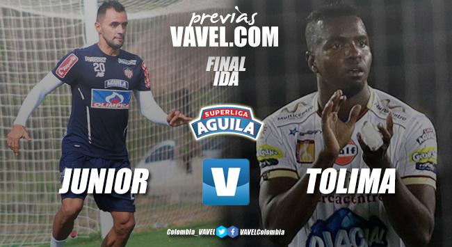 Previa Junior-Tolima: a tomar ventaja en el juego de ida
