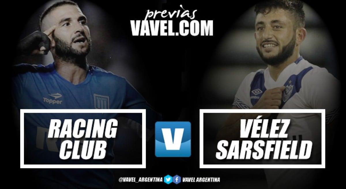 Previa Racing - Vélez: promesa de buen fútbol