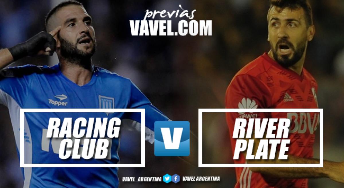 Previa Racing - River Plate: el inicio de la serie más difícil
