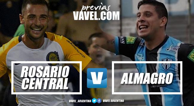 Previa Rosario Central - Almagro: el último partido de octavos