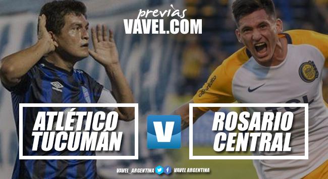 Previa Atlético Tucumán - Rosario Central: por los tres puntos