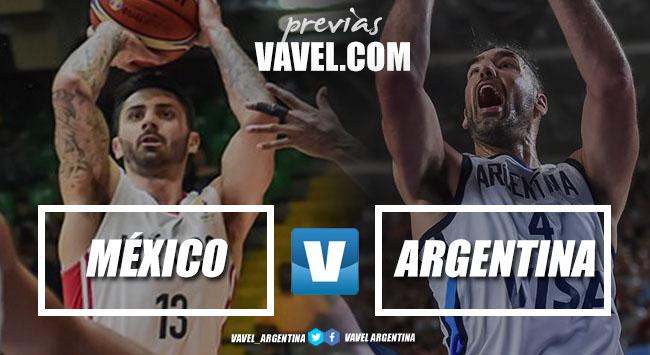 La previa: Argentina recibe a México en La Rioja