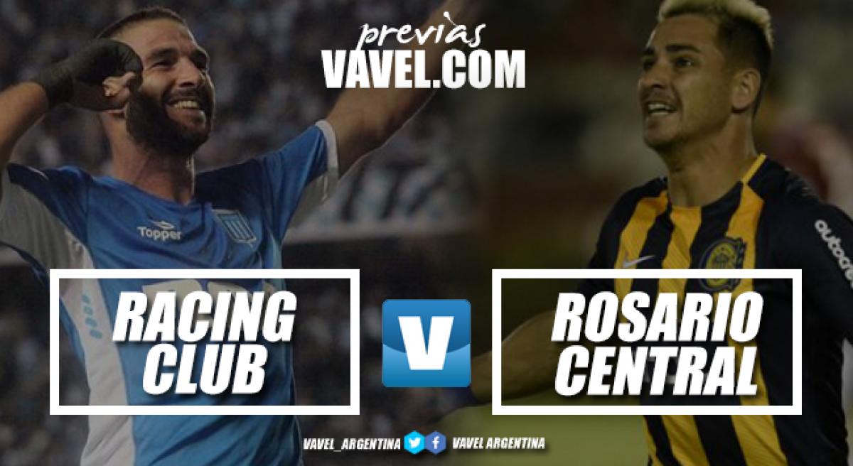 Previa RacingClub - Rosario Central: el partido de la fecha