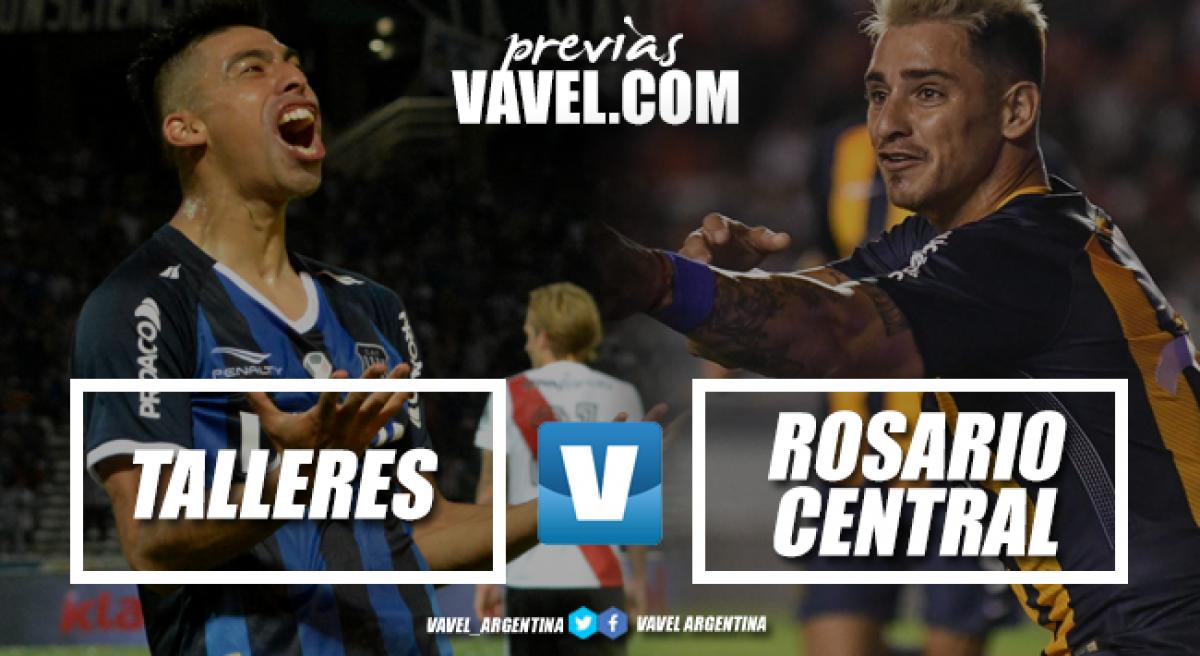 Previa Talleres - Rosario Central: se abre la segunda fecha