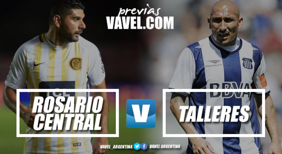 Previa Rosario Central - Talleres: para seguir en carrera