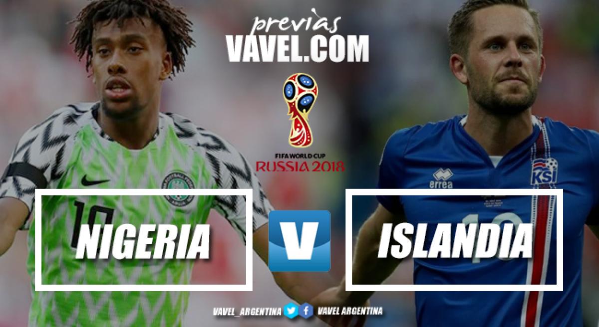 Previa Nigeria - Islandia: duelo físico