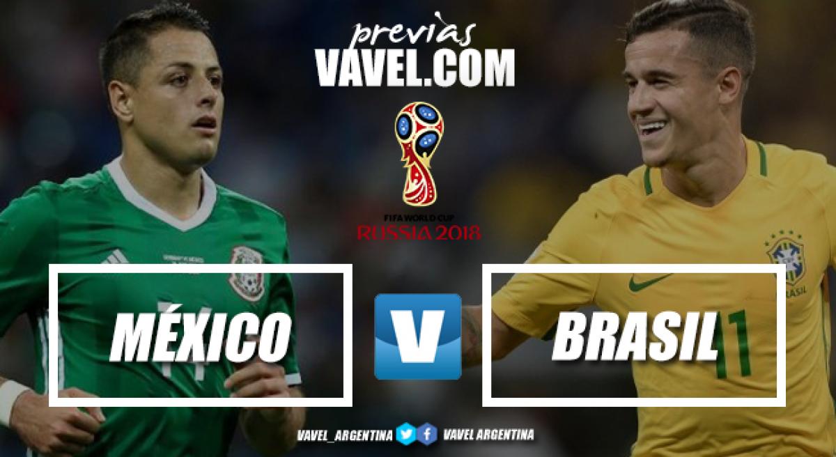 Previa México - Brasil: la Canarinha por el primer paso al Campeonato