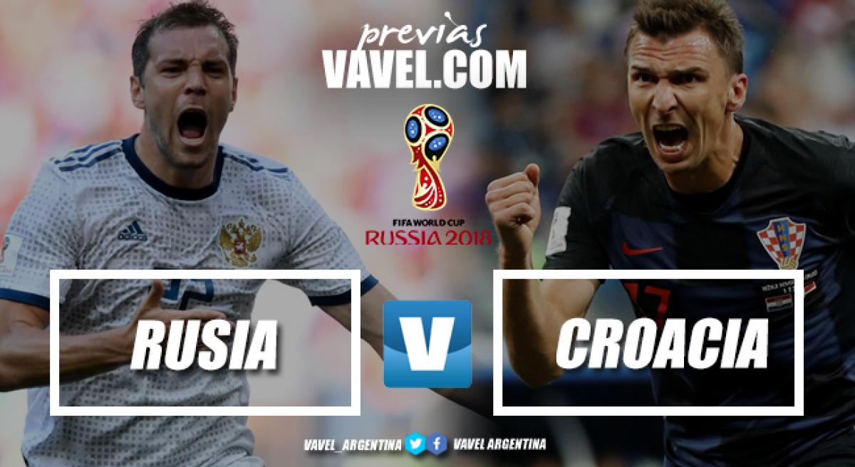 Previa Rusia - Croacia: quieren agigantar la ilusión