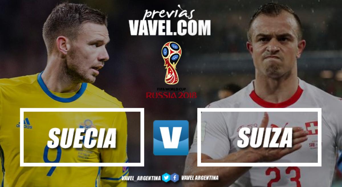 Previa Suecia - Suiza: en busca de los cuartos de final