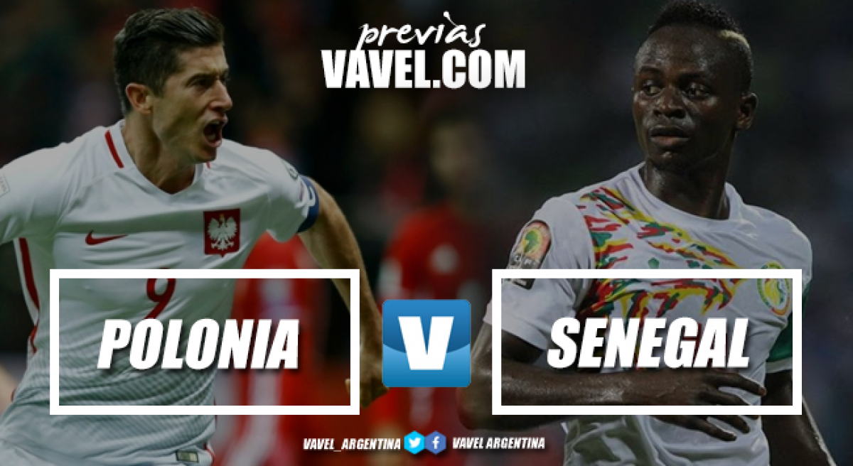 Previa Polonia - Senegal: choque de delanteros